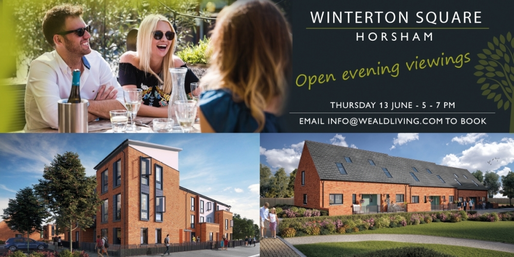 Open evening viewings at Winterton Square
